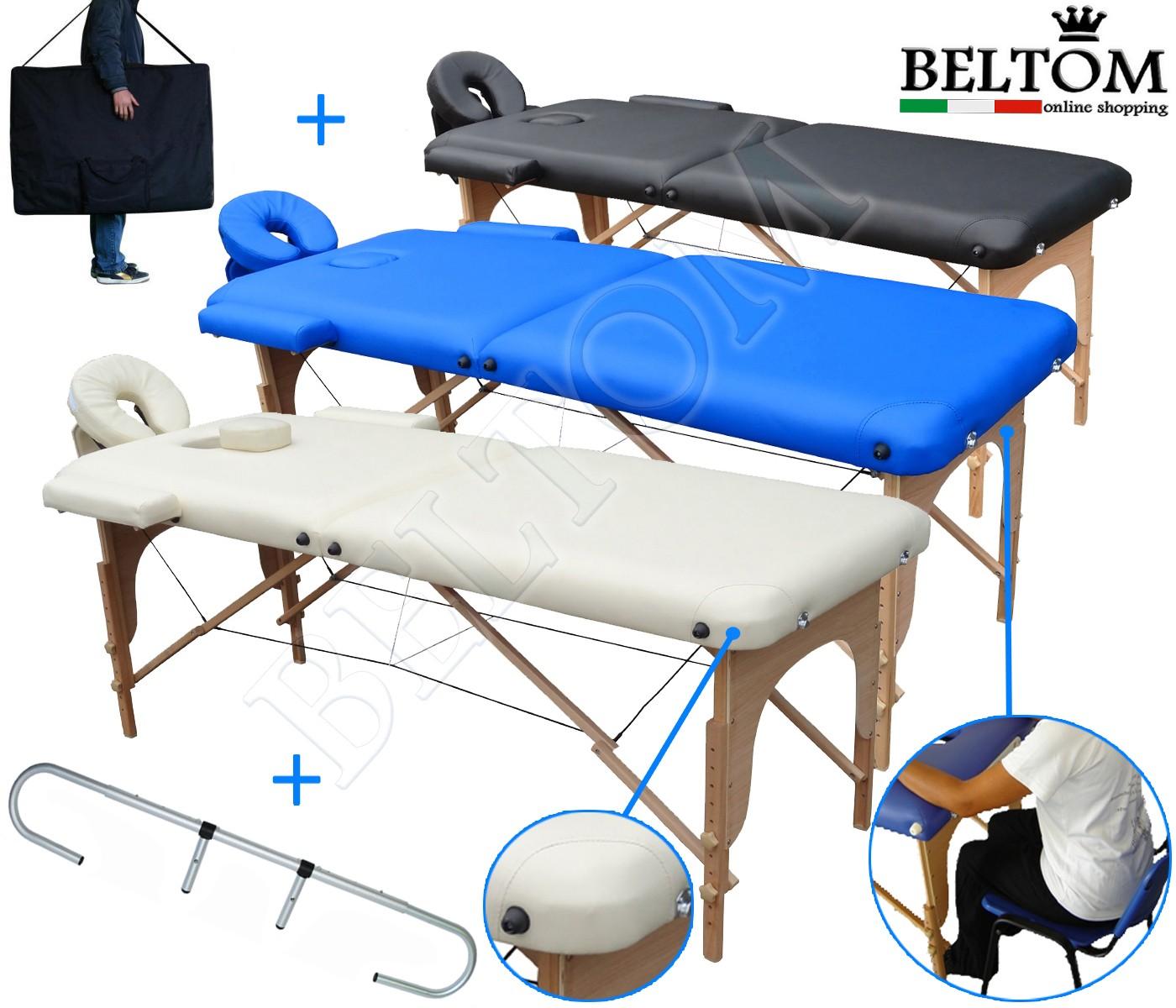 Lettino Per Massaggio Prezzi.Lettino Da Massaggio 2 Zone Portarotolo