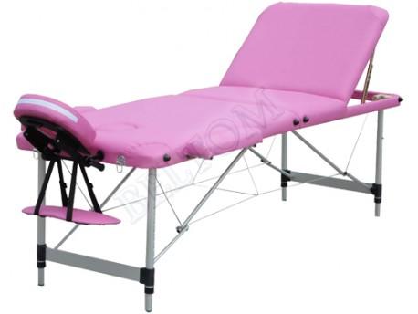 Lettino Per Massaggio Portatile In Alluminio.Lettino Massaggio 3 Zone Leggero