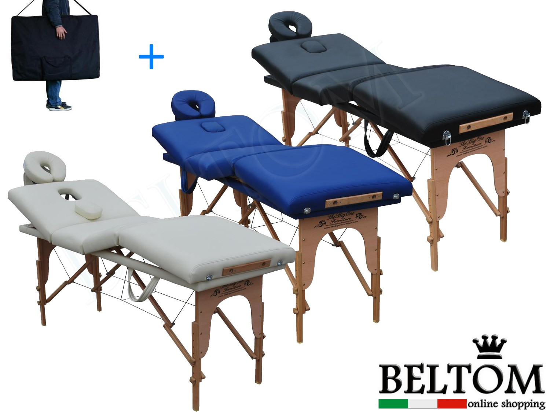 Lettino Massaggio Subito It.Lettini Massaggio 4 Zone Gran Lusso