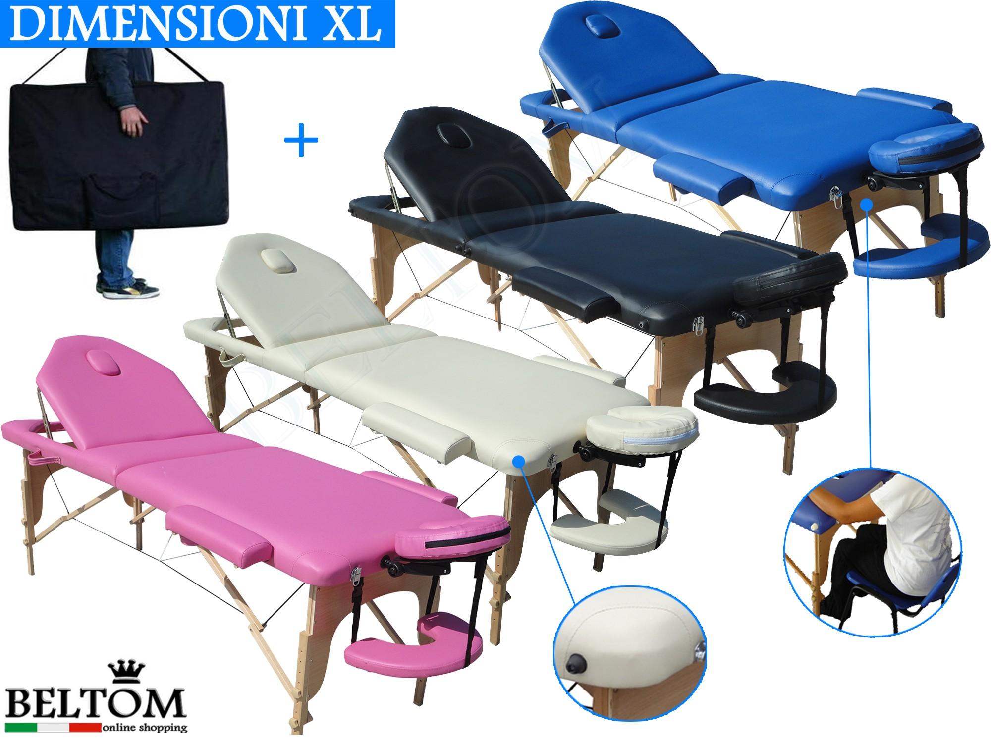Lettino Massaggio Beltom.Lettino Da Massaggio 3 Zone Nuovo Modello