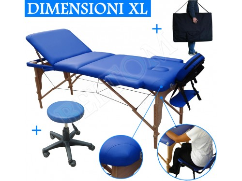 Massage Table 3 Zones Stool