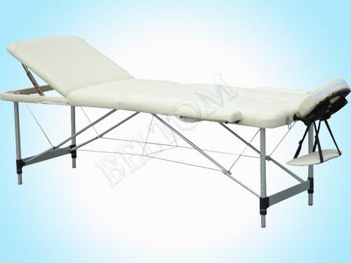 Lettino massaggio 3 Zone Leggero PANNA