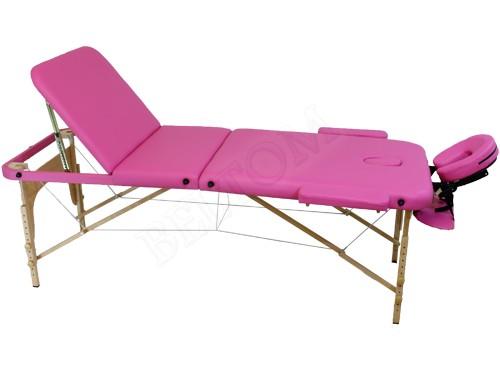 Table de massage 3 zones portables cosmetique lit esthetique pliante reiki sac ebay - Table de massage pliante ebay ...