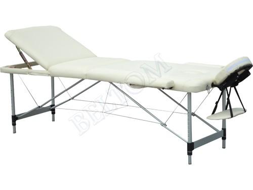 Lettino Massaggio Portatile Leggero.Lettino Per Massaggi 3 Zone Alluminio