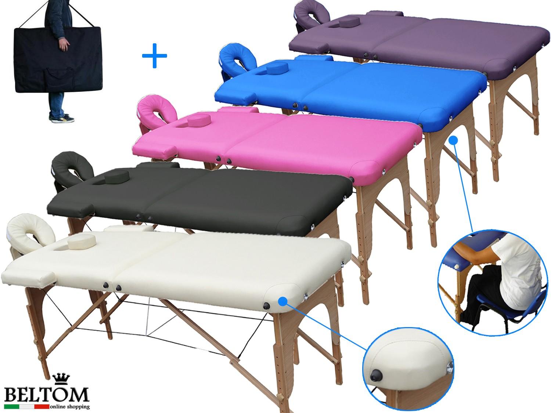 Lettino X Massaggio.Lettino Per Massaggi 2 Zone