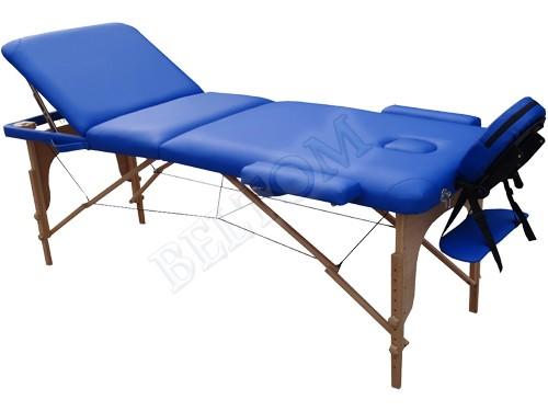 Lettino massaggio 3 Zone Classico BLU