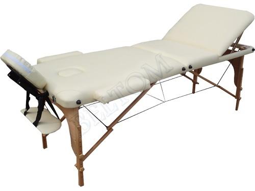Lettino massaggio 3 Zone Classico PANNA