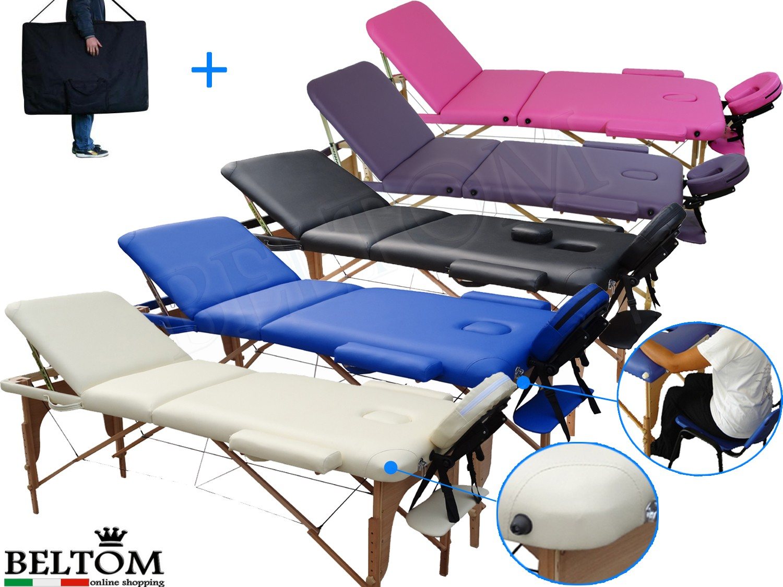 Accessori Per Lettino Da Massaggio.Lettini Da Massaggi 3 Zone Classico