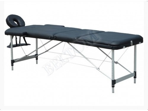 Lettino massaggio 3 Zone Leggero NERO