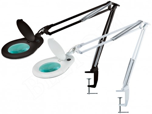 Desk LED Magnifying Lamp 5 Diopter with clamp