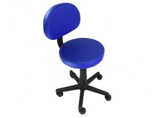 Sgabello sedia con schienale pedicure manicure per casa salotto