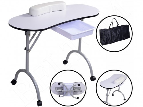 Manicure Table with drawer