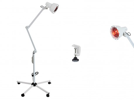 Infrared Heating Floor Lamp with 5-wheel stand