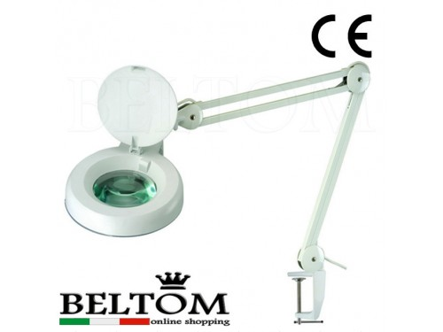 Magnifier 5 diopter with clamp